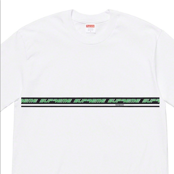 4658c1147b04 SUPREME - HARD GOODS TEE - WHITE